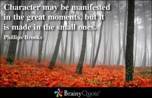 Great Moments quote