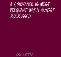 Grievance quote #1