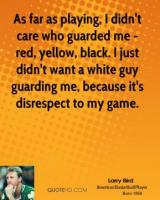 Guarding quote #2