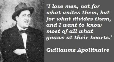Guillaume Apollinaire's quote