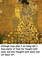 Gustav Klimt's quote