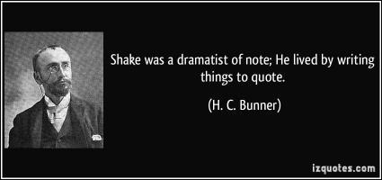 H. C. Bunner's quote