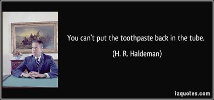 H. R. Haldeman's quote #1