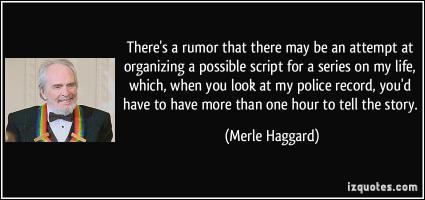 Haggard quote #2
