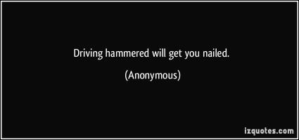Hammered quote #1