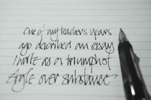 Handwriting quote #2