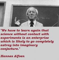 Hannes Alfven's quote
