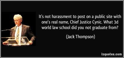 Harassment quote #2
