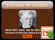 Harold W. Dodds's quote