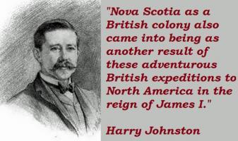 Harry Johnston's quote