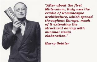 Harry Seidler's quote