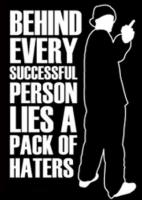 Hater quote #2
