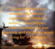 Having A Baby quote #2