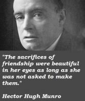 Hector Hugh Munro's quote