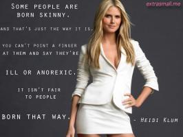 Heidi Klum's quote