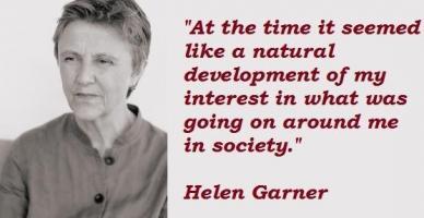 Helen Garner's quote