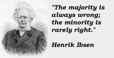 Henrik Ibsen's quote