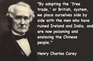 Henry Charles Carey's quote