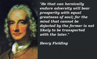 Henry Fielding's quote