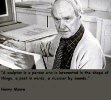 Henry Moore's quote