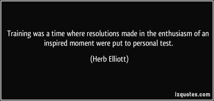 Herb Elliott's quote