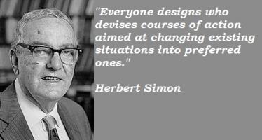 Herbert Simon's quote