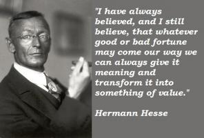 Hermann Hesse's quote