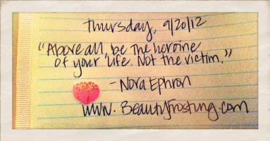 Heroine quote #1