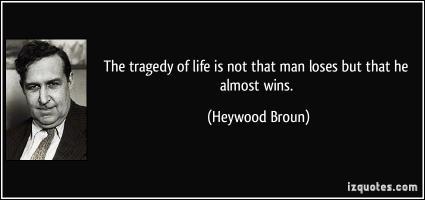 Heywood Broun's quote