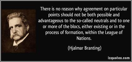 Hjalmar Branting's quote