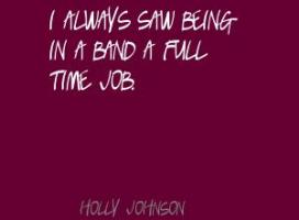 Holly Johnson's quote #6