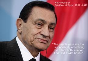 Hosni Mubarak's quote