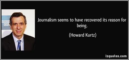 Howard Kurtz's quote #1