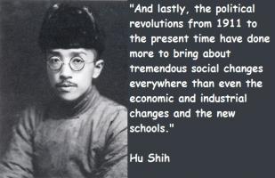 Hu Shih's quote