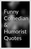 Humorist quote #1
