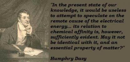 Humphry Davy's quote #3