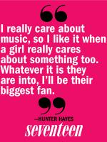 Hunter Hayes's quote