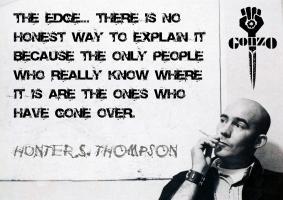 Hunter S. Thompson's quote