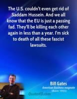 Hussein quote #1