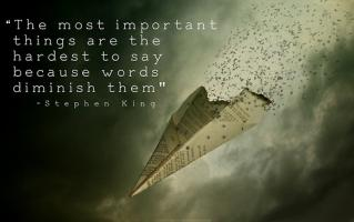 Important Thing quote #2