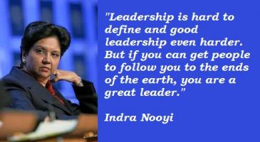 Indra Nooyi's quote