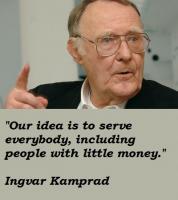 Ingvar Kamprad's quote