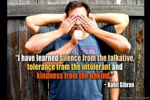 Intolerant quote #2