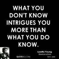Intrigues quote #1