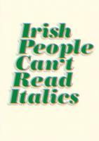 Irish People quote #2