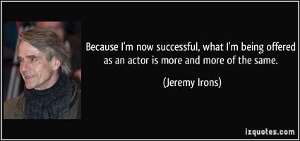 Irons quote #1