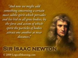 Isaac Newton's quote