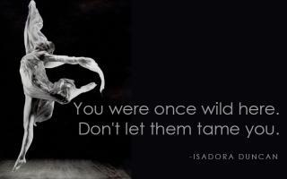 Isadora Duncan's quote
