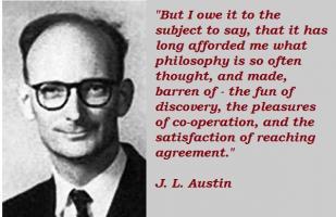 J. L. Austin's quote