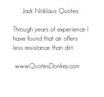 Jack Nicklaus quote #2
